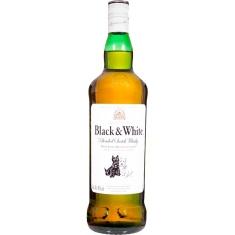 Whisky Escocês Black & White 1L