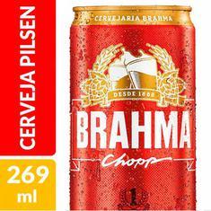 Cerveja Pilsen Brahma 269ml