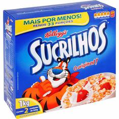 Cereal Matinal Sucrilhos Kellogg's 1kg