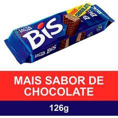 Chocolate Bis ao Leite Lacta 126g