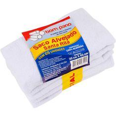 Saco Alvejado Santa Rita 30X60 c/  5 unidades