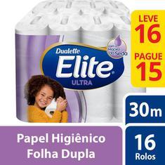 Papel Higiênico Dualette Folha Dupla L16P15 30m