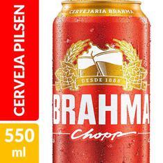 Cerveja Pilsen Brahma 550ml