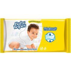 Lenço Umedecido Huggies Baby Wipes com  48un