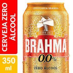 Cerveja Zero Álcool Brahma 350ml