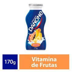 Danone Líquido Vitamina Frutas 170g