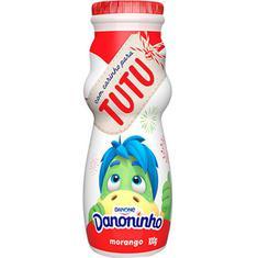 Iogurte Para Beber Sabor Morango Danoninho 100g
