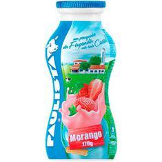 Bebida Láctea Paulista Líquida Morango 170g
