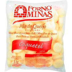 Pão Queijo Coquetel Forno de Minas 1kg