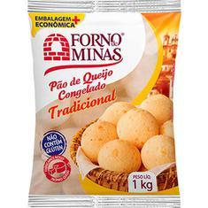 Pão de Queijo Tradicional Forno de Minas 1kg