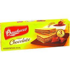 Biscoito Wafer Sabor Chocolate Bauducco 140g