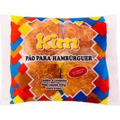 Pão de Hambúrguer com Gergelim Kim 200g