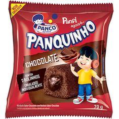 Bolinho Recheado Sabor Chocolate Panquinho Panco 70g