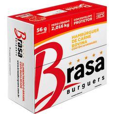 Hambúrguer Bovino Brasa Burguer 36X56g