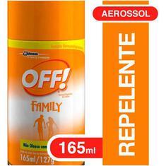 Repelente Aerossol Off 165ml