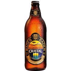 Cerveja Premium Cristal Baden Baden 600ml