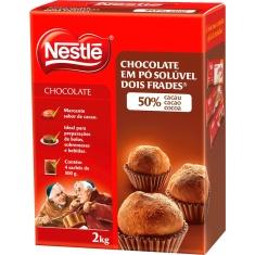 Chocolate em Pó 50% Cacau Dois Frades Nestlé 2Kg