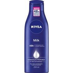 Loção Hidratante Nivea Body Milk 200ml