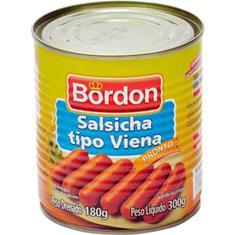 Salsicha Viena Bordon 180g