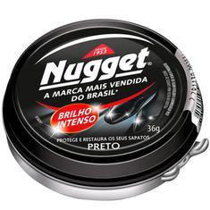 Nugget Pasta para Calçado Preto 36g