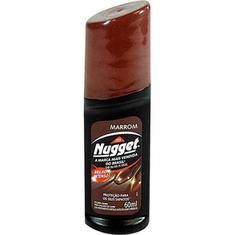 Nugget Líquido para Calçado Marrom 60ml
