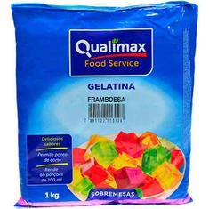 Gelatina em Pó Qualimax Framboesa 1kg