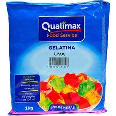 Gelatina em Pó Qualimax Uva 1kg