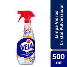 Limpador Veja Vidro Vidrex Cristal Pulverizador 500ml