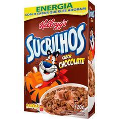 Cereal Matinal Sabor Chocolate Sucrilhos Kellogg's 320g