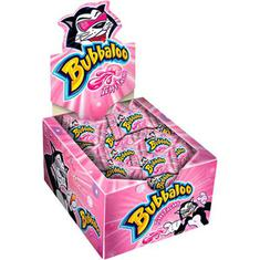 Chiclete Adams Bubbaloo Tutti Frutti 60un