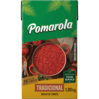 Molho de Tomate Tradicional Pomarola 1,06kg