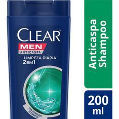 Shampoo Clear 2 Em 1 Limpeza Diária 200ml