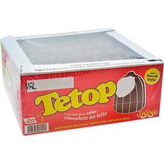 Doce Jazam Tetop Chocolate 50un