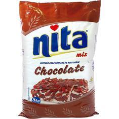 Mistura para Bolo Chocolate Nita 5kg