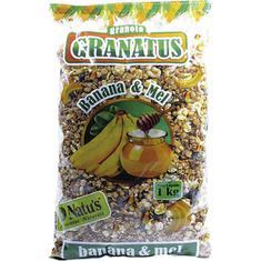 Granola com Banana e Mel Granatus 1kg