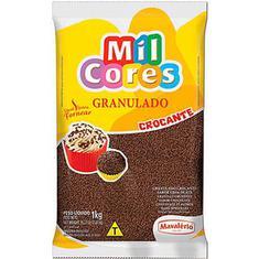 Chocolate Granulado Colorido Mil Cores Mavalério 1,01Kg