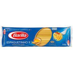 Macarrão com Ovos Barilla Espaguete 9 - 500g