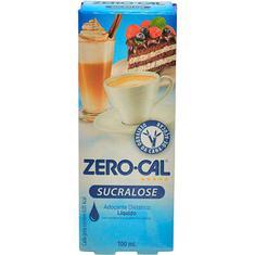 Adoçante Líquido Sucralose Zero Cal 100ml
