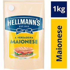 Maionese Hellmanns Sachê 1kg