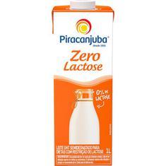 Leite Zero Lactose Semidesnatado Piracanjuba 1L