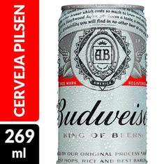 Cerveja Premium Budweiser 269ml