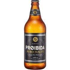 Cerveja Premium Puro Malte Proibida 600ml