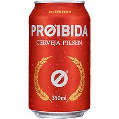 Cerveja Pilsen Proibida 350ml