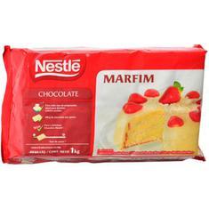 Cobertura de Chocolate Branco Marfim Nestlé 1Kg