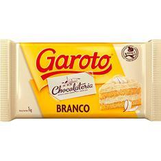 Cobertura de Chocolate Garoto Branco 2,1Kg