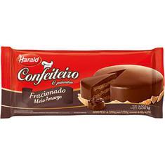 Cobertura de Chocolate Harald Confeiteiro Meio Amargo 1,050Kg