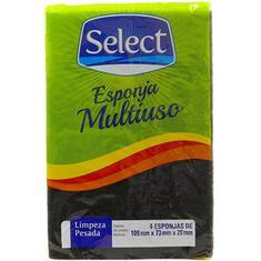 Esponja Multiuso Select 4un