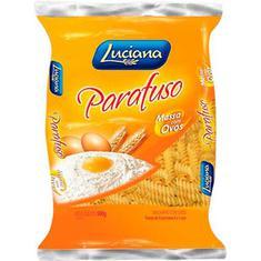 Macarrão Ovos Luciana Parafuso 500g
