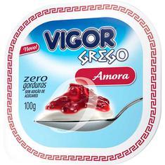 Iogurte Grego Amora Zero Vigor 100g