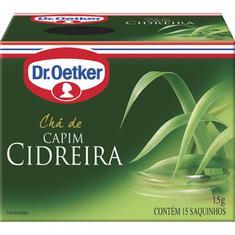 Chá de Capim Cidreira Dr. Oetker 15g
